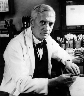 Discovered Alexander Fleming