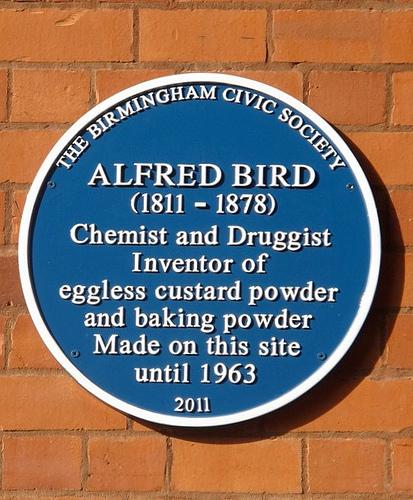 Alfred Bird Plaque