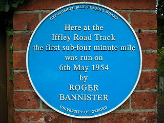 Bannister Blue plaque