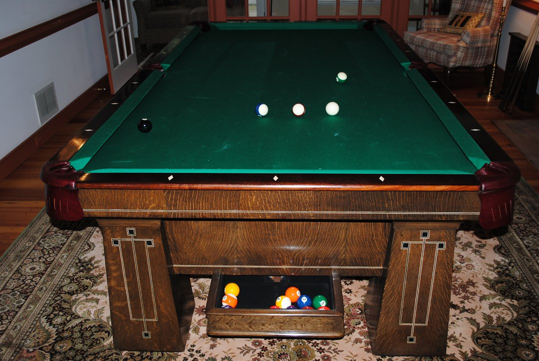 Traditional Billiard Table