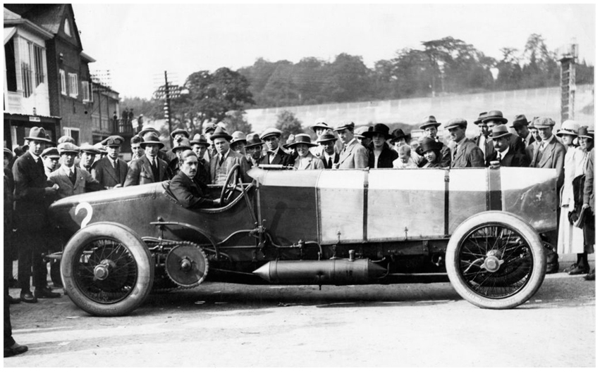 Chitty 1 at Brooklands