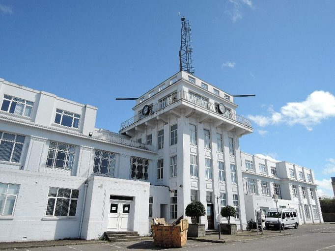 World's first ATC, Croydon airport tower
