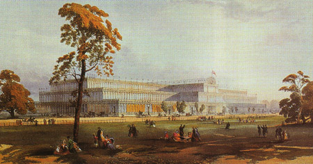 Crystal Palace designed by Paxton