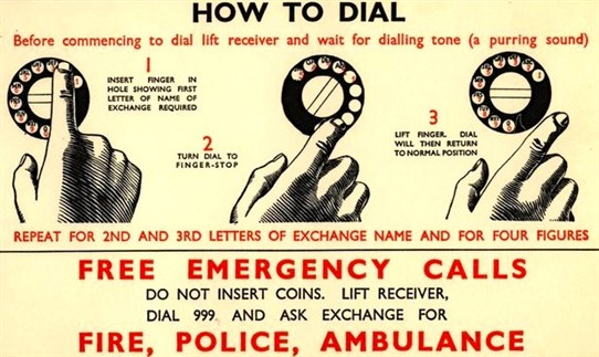 Dialling 999
