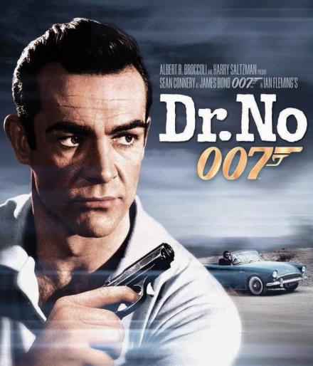 Promotion for Dr No. Sean Connery as James Bond