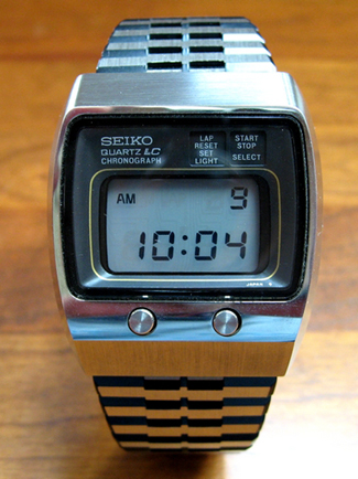 Early seiko watch