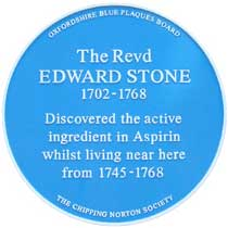 Edward Stone Plaque