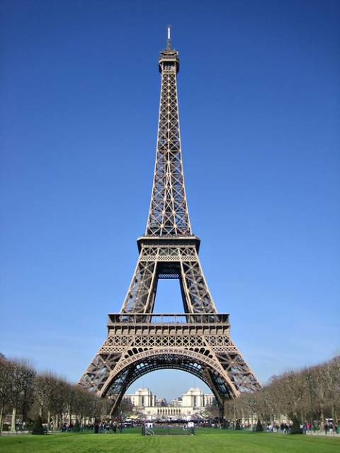 Steel beams made Eiffel Tower possible