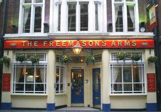 Freemasons pub. Great place for a meeting.