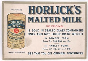 Horlicks Advert