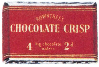 Rowntree S Chocolate Crisp Original Wrapper