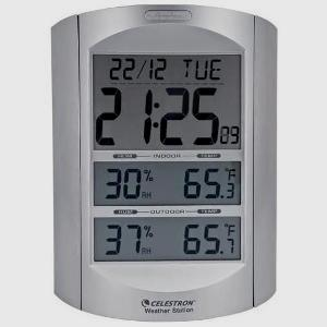 LCD Calendar and Weather display