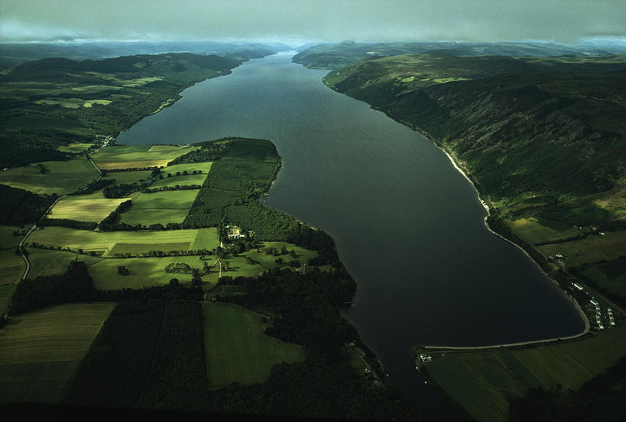 Loch Ness: 23 miles long and 750 feet deep