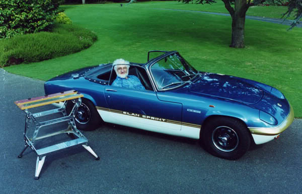 Classic Lotus Elan designed by Ron Hickman