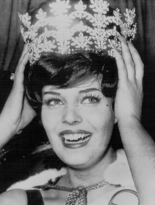 Rosemarie Frankland was Miss World in 1961 representing United Kingdom