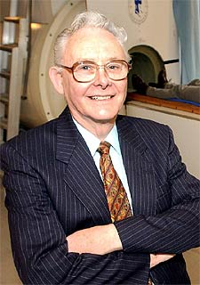 Inventor Peter Mansfield