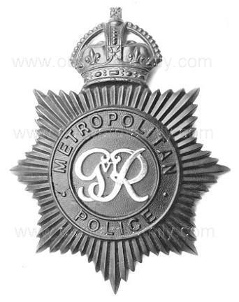 Police helmet Badge