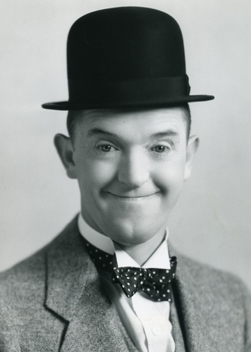 Entertainer Stan Laurel