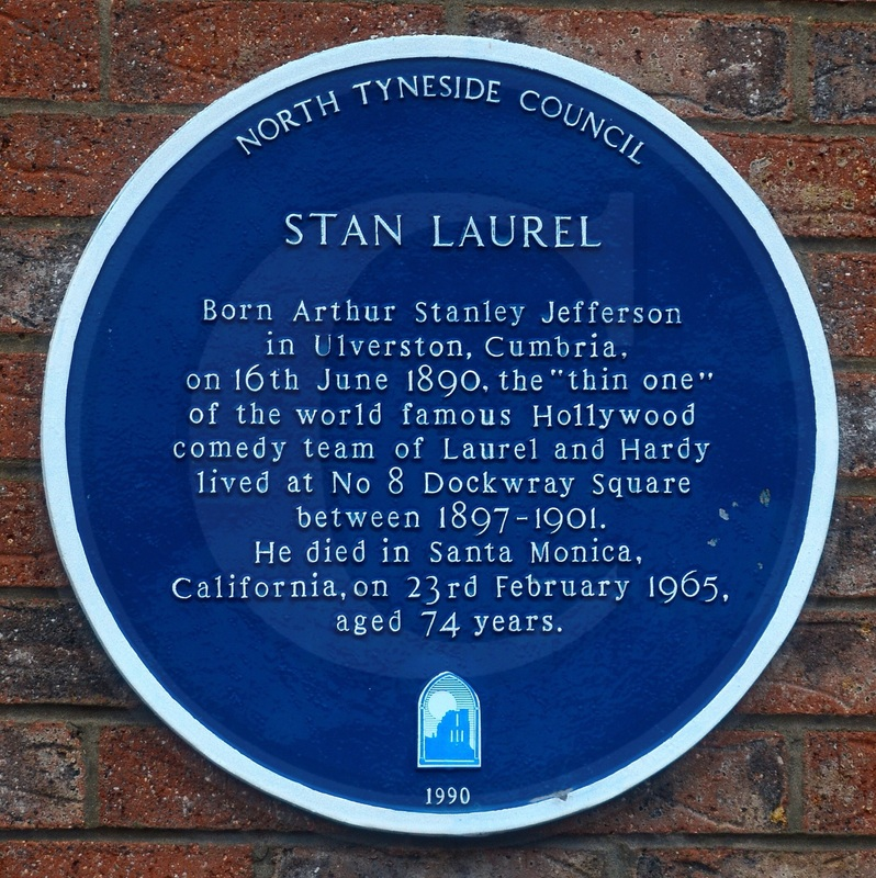 Stan Laurel blue plaque