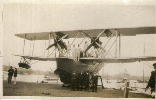 Early Supermarine Flying Boat