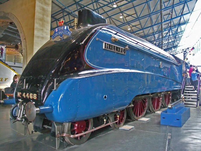 Mallard.World speed record for steam