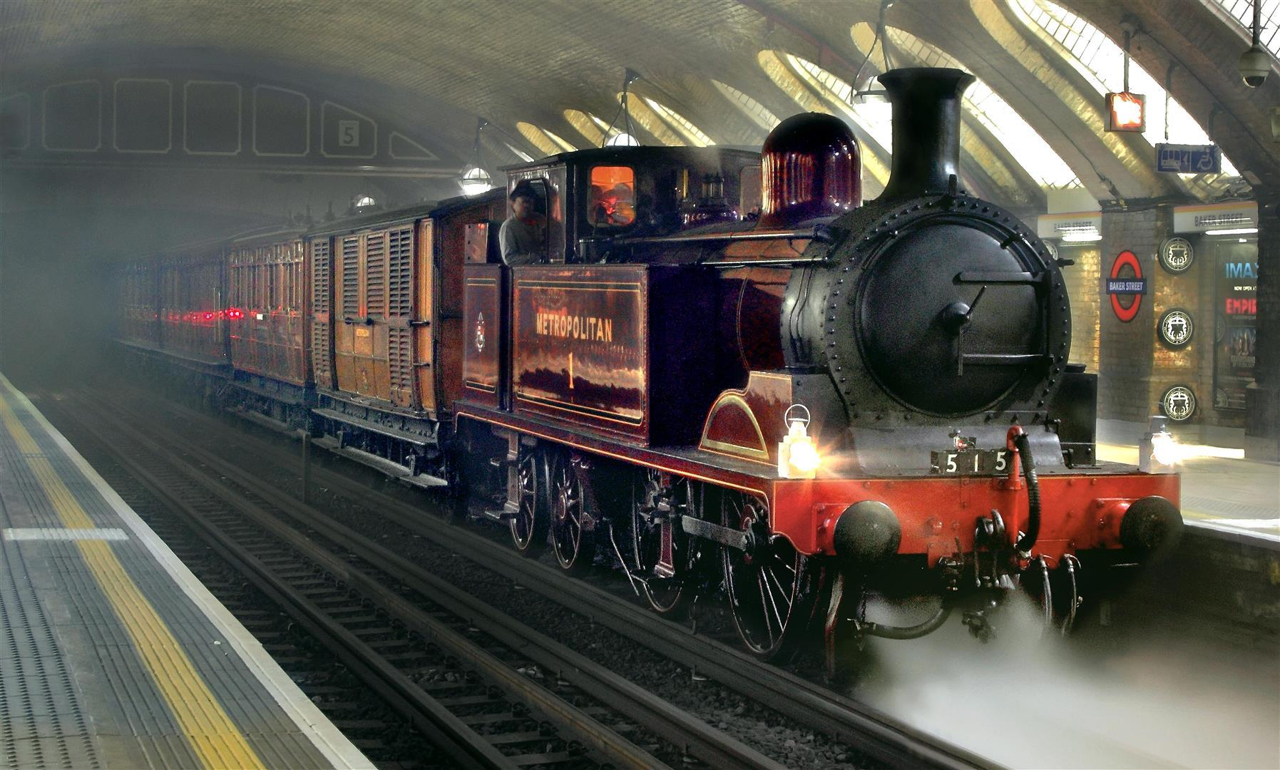 Underground Steam Train
