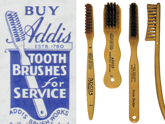 William Addis Brushes