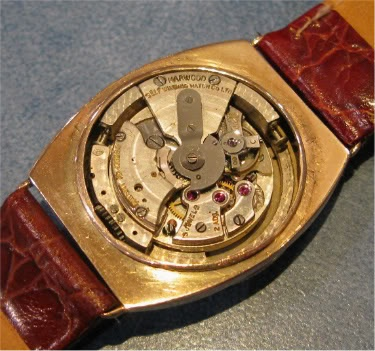 Harwood self-winding watch