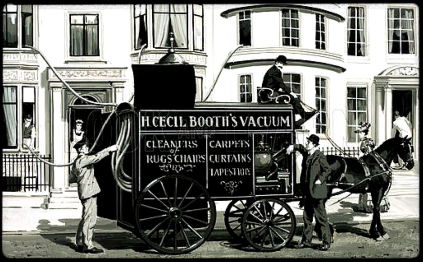 Made Up In Britain Vacuum Cleaner Hubert Cecil Booth 1901