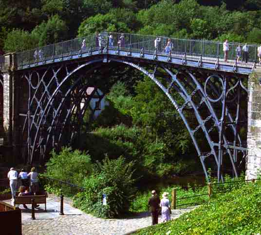 World's First Iron Bridge 1779