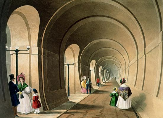 The 'Eighth wonder of the world' the Thames Tunnel Opens